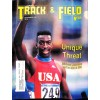 Cover Print of Track And Field News, November 1990