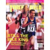 Cover Print of Track And Field News, November 1995