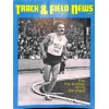 Cover Print of Track And Field News, October 1974