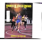 Cover Print of Track And Field News, October 1977