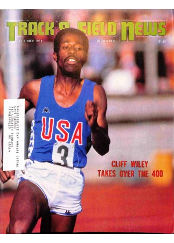 Track And Field News, October 1981