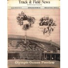 Cover Print of Track And Field News, September 1968
