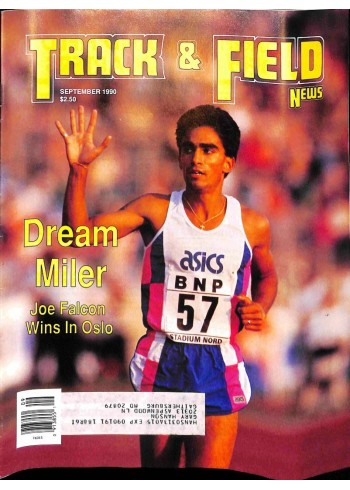 Track And Field News, September 1990