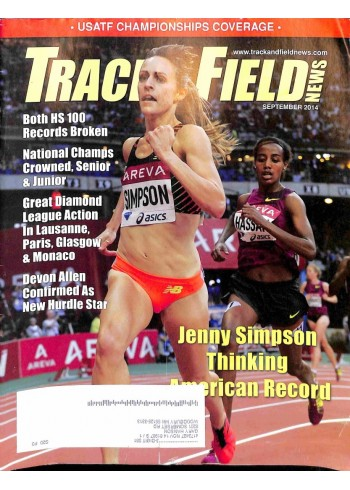 Track And Field News, September 2014