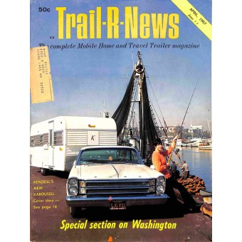 Cover Print of Trail-R-News, April 1967