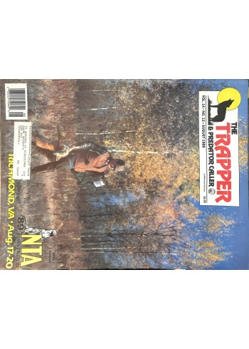 Cover Print of Trapper and Predator Caller, August 1989