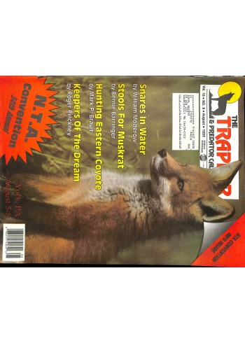 Cover Print of Trapper and Predator Caller, August 1993