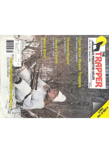 Cover Print of Trapper and Predator Caller, January 1992