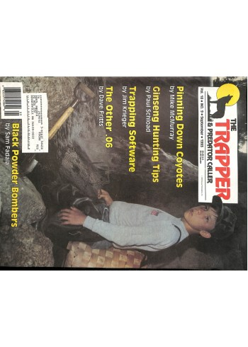 Cover Print of Trapper and Predator Caller, September 1993