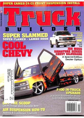 Cover Print of Truck Builder, February 2006