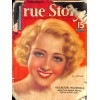 Cover Print of True Stories, August 1934