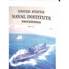 Cover Print of US Naval Institute Proceedings, April 1957