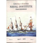 Cover Print of US Naval Institute Proceedings, April 1958