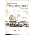 US Naval Institute Proceedings, April 1961