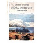 Cover Print of US Naval Institute Proceedings, August 1952