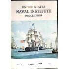 US Naval Institute Proceedings, August 1958