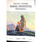 Cover Print of US Naval Institute Proceedings, August 1959