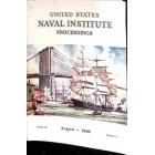 US Naval Institute Proceedings, August 1960