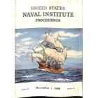 Cover Print of US Naval Institute Proceedings, December 1960