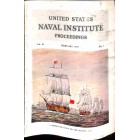 US Naval Institute Proceedings, February 1955