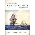 US Naval Institute Proceedings, February 1961
