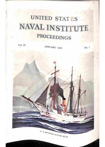 US Naval Institute Proceedings, January 1955