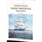 US Naval Institute Proceedings, January 1956