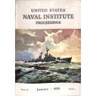 US Naval Institute Proceedings, January 1958
