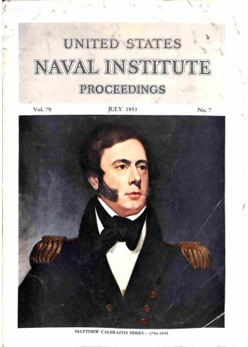 Cover Print of US Naval Institute Proceedings, July 1953