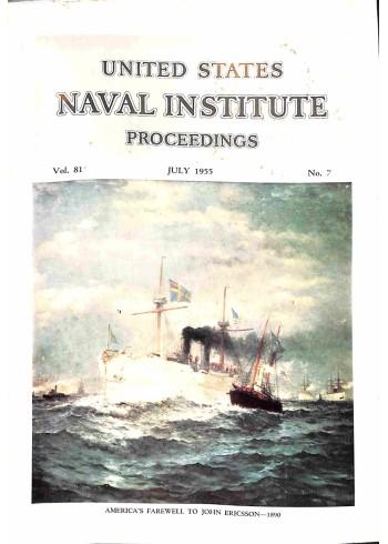 Cover Print of US Naval Institute Proceedings, July 1955