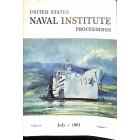 US Naval Institute Proceedings, July 1961