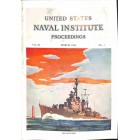 US Naval Institute Proceedings, March 1956