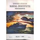 US Naval Institute Proceedings, March 1959