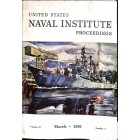 US Naval Institute Proceedings, March 1961