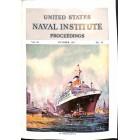 Cover Print of US Naval Institute Proceedings, October 1957