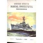US Naval Institute Proceedings, September 1960