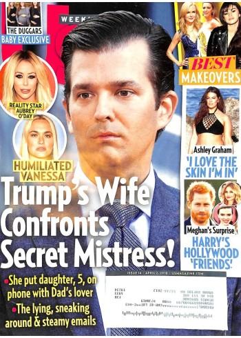 US Weekly, April 2 2018