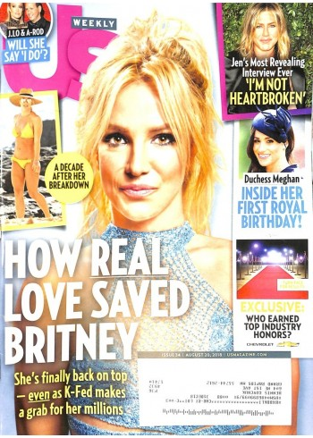 Cover Print of US Weekly, August 20 2018