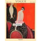 Vogue, July 15, 1920. Poster Print. George Lepape.