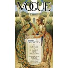 Vogue, March 18, 1909. Poster Print.