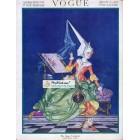 Vogue, March 1, 1917. Poster Print. Leyendecker.