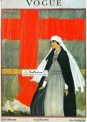 Vogue, May, 1918. Poster Print. Porter Woodruff.