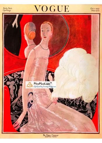Vogue, October 1, 1922. Poster Print.