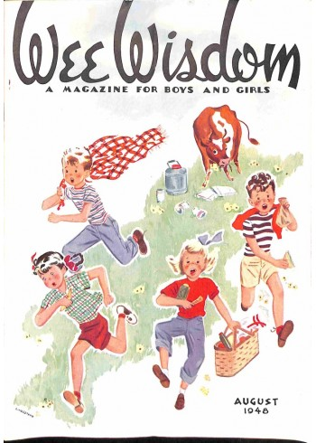 Cover Print of Wee Wisdom, August 1948