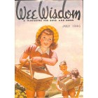 Cover Print of Wee Wisdom, July 1946