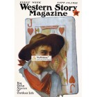 Western Story Magazine, September 16, 1922. Poster Print.