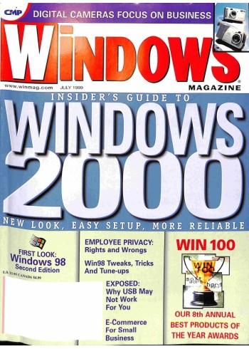 Windows Magazine, July 1999