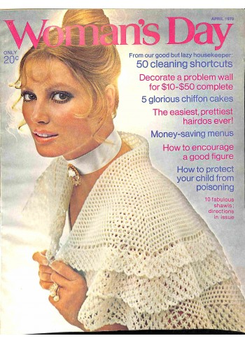 Cover Print of Womans Day, April 1970
