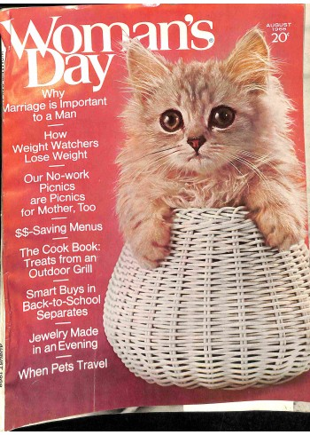 Cover Print of Womans Day, August 1968