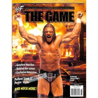 Cover Print of World Wrestling Entertainment Magazine, March 5 2002